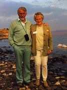 David and his wife Enid